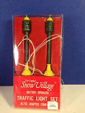 Dept 56 Heritage Village TRAFFIC LIGHT SET Set of 2 w/ box Combine Shipping!