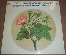 Gosta Ohlins Vokalensemble HAKANSON/NORMAN/BRAHMS - Caprice CAP 1038 SEALED