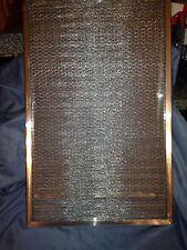Aluminum Mesh Air Filter - 16 x 25 x 1 - Carrier Model KH03DU330 - NOS