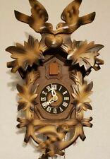 West Germany Cuckoo clock, with birds feeding nest