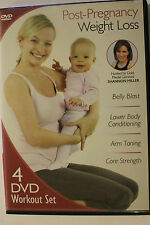 Shannon Miller, Gymnast Post Pregnancy Weight Loss DVD New Work out set