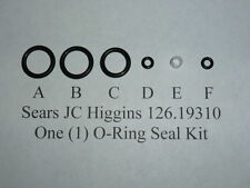 Sears Jc Higgins Co2 Rifle 126.19310 One Complete O-Ring Seal Kit .