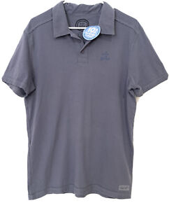 Life Is Good MENS Crusher POLO SHIRT Small BRAND NEW w/TAGS BNWT Short Sleeve r