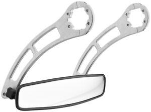 Beard Seats Mirror Kit W-Billet Mnt 895-100-06