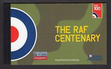 2018 RAF CENTENARY 100 YEARS - PRESTIGE STAMP BOOK - PSB DY25