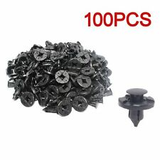 Panel Plastic Rivet Fastener Retainer Bumper Fender Push Pin Clip 8mm for Nissan