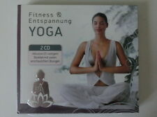 YOGA Fitness & Entspannung (TCM) Entspannung / Yoga ☆ 2 CDs inkl. 20 S. Booklet