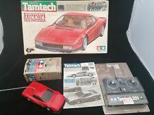 Vintage Tamiya 2109 Tamtech Ferrari Testarossa 1/24th Kit