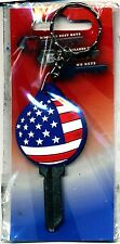 SC-1 Flag with attached key chain key blank nice gift