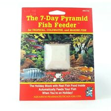 API Pyramid 7 Day Fish Feeder Holiday / Vacation Food for Tropical and Coldwater