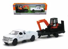 New Ray Kubota KX040 Excavator with Ford F-250 Super Duty Pickup & Trailer 34223