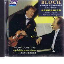 CD ASV MICHAEL GUTTMAN - BLOCH VIOLIN CONCERTO, BAAL SCHEM, SEREBRIER