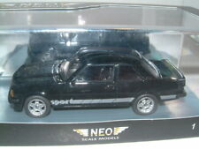 1/43 NEO OPEL ASCONA 2 DOOR SPORT IN  BLACK