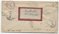 1912 Swansea Massachusetts Doane Cancel on Registered Cover [1712]