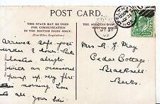 Genealogy Postcard - Family History - May - Bracknell - Berkshire   539A