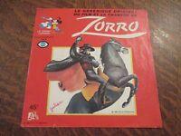 45 tours le generique original du film et la chanson de zorro