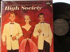 High Society (Soundtrack) (Capitol) (Mono) Grace Kelly,Frank Sinatra,Bing Crosby
