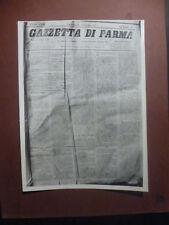 ARCHIVIO FOTO VAGHI - PARMA GAZZETTA 1877 - LEGA CONTRO MACINATO