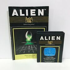 Alien + Manual ATARI 2600 Game Cartridge Tested + Working
