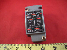 Cutler Hammer E50SG Ser A2 Limit Switch Body Only gravity return used