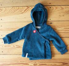SALE KIK KID Wickeljacke Fleece Fur Baby Gr. 68, 74, 80, 86 blau NEU