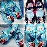 NEW Frozen Elsa Princess Kids Baby Girls Shoes Ballet Dancing Party Shoes