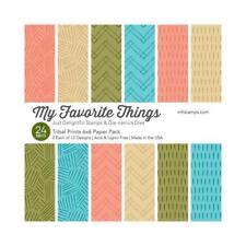 "My Favorite Things - TRIBAL PRINTS - 6x6"" Paper Pad - 24 sheets"