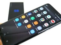 New In Box Samsung Galaxy S8 SM-G950U 64GB Black GSM Unlocked for AT&T  T-Mobile