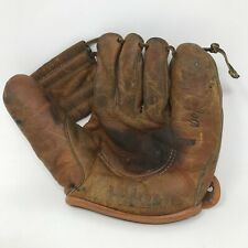 New listing WILSON A9814 Vintage Leather Glove Mitt Made in USA RHT Cowhide Rare Genuine