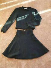 Dark green Sandro Paris 2 Piece BUNDLE size 1! Sweater and Skirt 600+