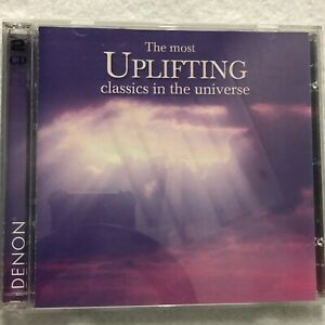 The Most Uplifting Classics in the Universe CD Classical 2004 2 Disc Set Denon