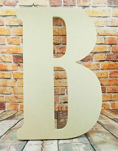 EXTRA LARGE Custom Made Bernard font Letters-Decoration-names-Ready to decorate