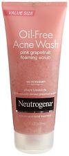 Neutrogena Oil-Free Acne Wash Scrub, Pink Grapefruit 4.2 oz