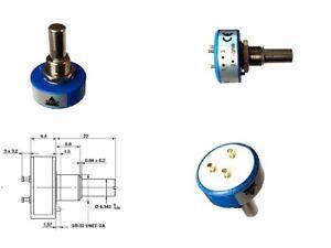 Vishay Servo Potentiometer Poti 5K lin ±2% 1W linear continuous rotation 1 Stück