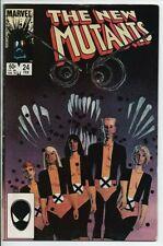 Marvel Comics The New Mutants #24 Feb. 1985 FN+