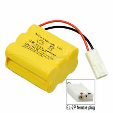 7.2V 400mAh NiCD Battery EL-2P plug for RC Buggy Car Truck Speed Boat Ship