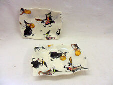 set of 2 hubble bubble witch soap dish