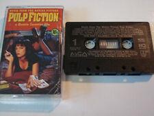 Pulp Fiction - Soundtrack - Cassette Tape 1994 Canada