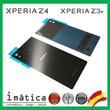 TAPA TRASERA SONY XPERIA Z4 Z3 PLUS Z3+ E6533 E6553 NEGRO NEGRA BATERIA COVER