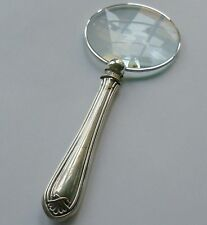 Cooper Bros Hallmarked Sterling Silver Handle Magnifying Glass Sheffield 1917