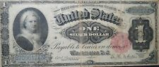1886 United States $1 One Dollar  Martha Washington Silver Certificate  Red Seal