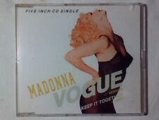 MADONNA Vogue cd singolo GERMANY 2 TRACKS
