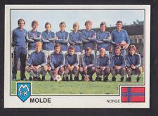 Panini Euro fútbol 79 - # 330 Molde Team Group
