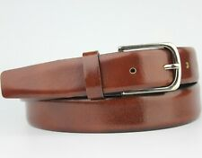 Zara Wine Brown Leather Belt Size 95cm M