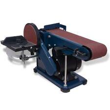 vidaXL Bandschleifer Tellerschleifer Bandschleifmaschine Schleifmaschine 375 W