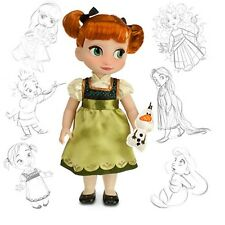 Anna de Frozen Animator Muñeca, Animators's Collection Con Envío Gratis