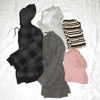 Lot of 5 Women's size Medium Tops Hoodies Sweater Jacket