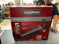 Snapper S27JB 135 MPH 650 CFM Full Crank 2-Cycle 27cc Gas Blower - NEW!