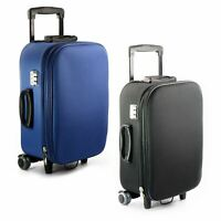 Lightweight Wheeled Hand Luggage Case Cabin Bag Luggage Trolley Holdall Suitcase