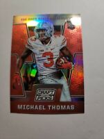 "2016 Panini Prizm Draft Picks Michael Thomas Rc #106 ""Red Prizm"""